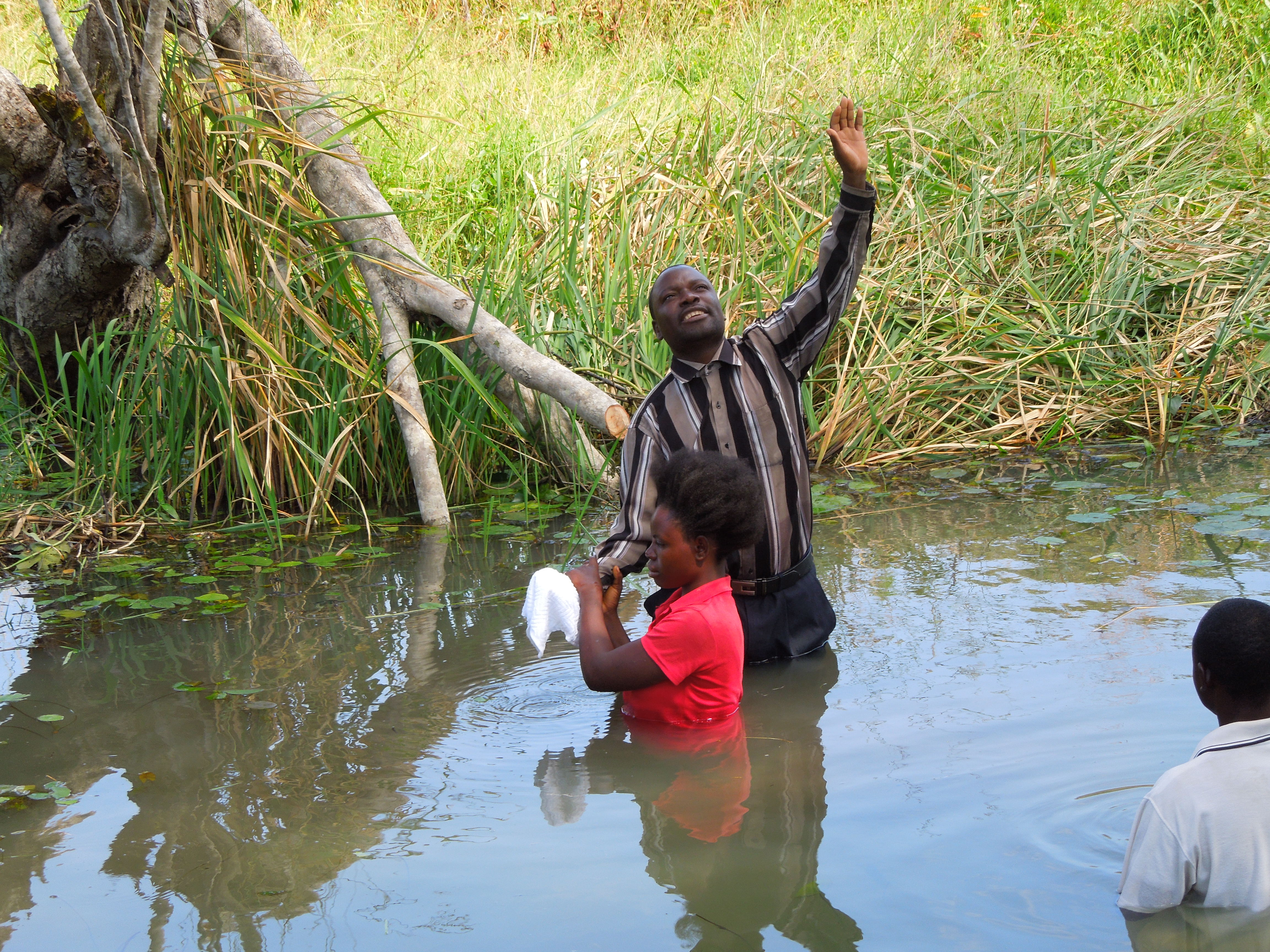 Iwell baptising